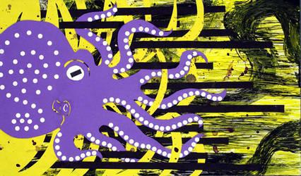 Flamboyant Dancing Octopus