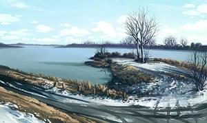 Lake by lisiCat