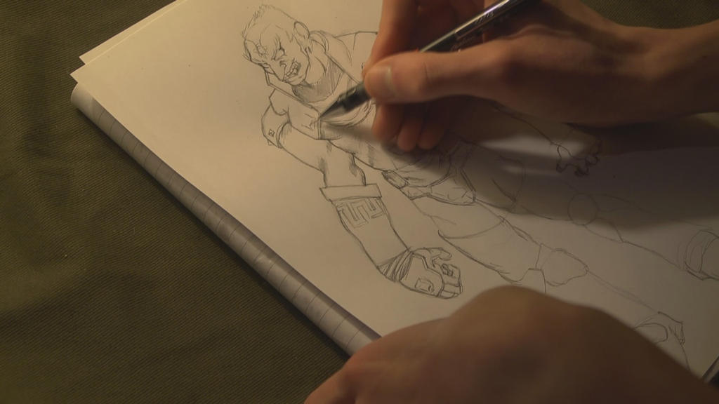 Drawing tutorial - Ganondorf (Legend of Zelda) by peter2005