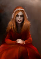 Red Riding Wolf by Silmuen