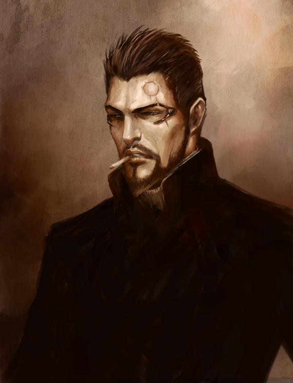 Adam Jensen by Silmuen