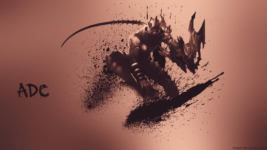 League Of Legends Adc Wallpaper By Tussor On Deviantart
