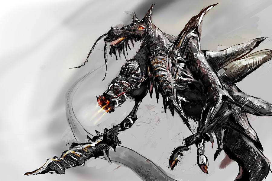 Armored Dragon by prtyshrmn on DeviantArt
