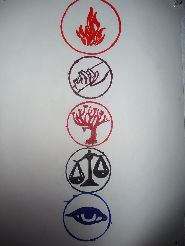 Divergent Faction Symbols! by LenaMaxLeiser on DeviantArt