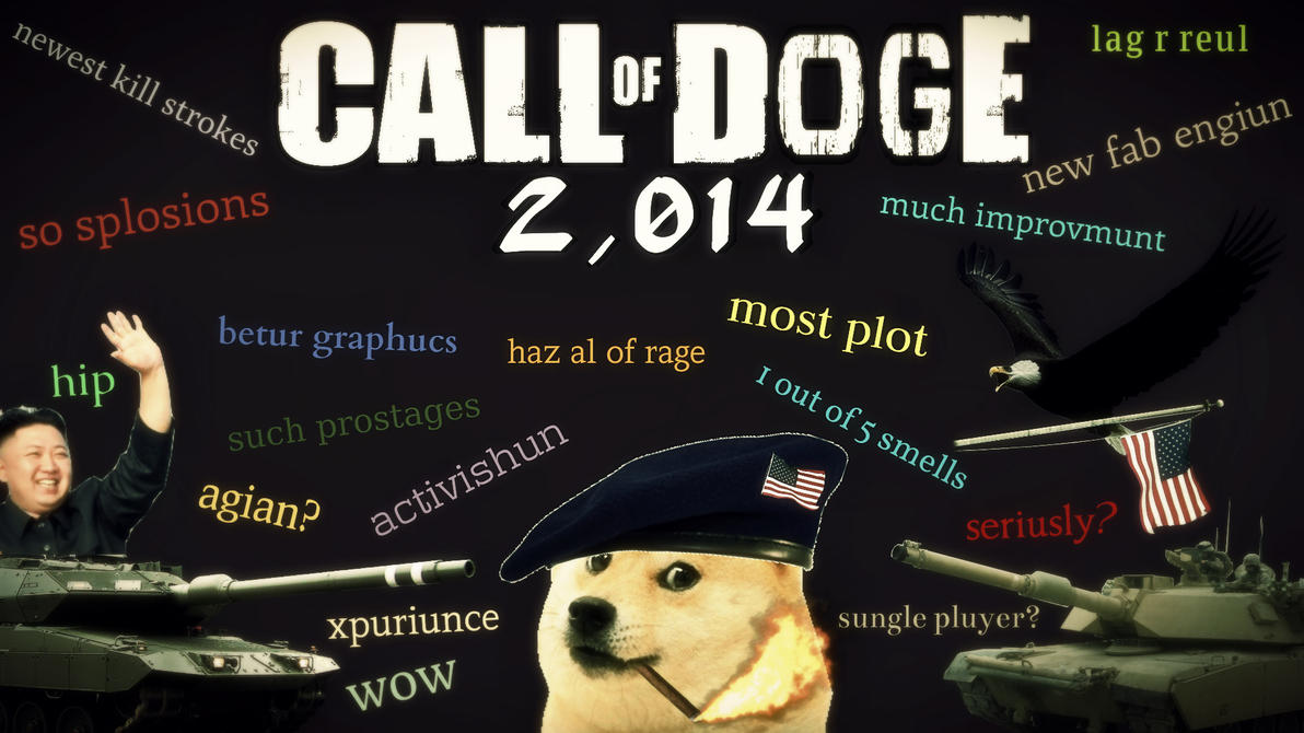 call of doge wallpaper - photo #5