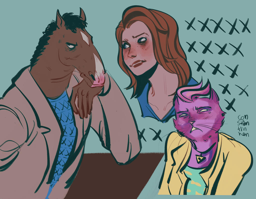 bojack horseman by Karoline-13