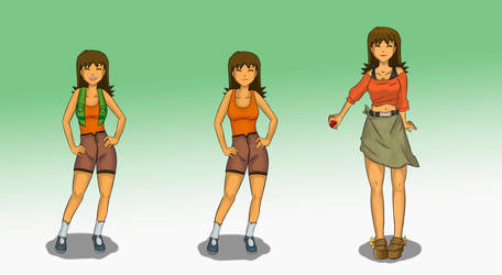 Pokemon Gender Bender, Brock by TheMightFenek