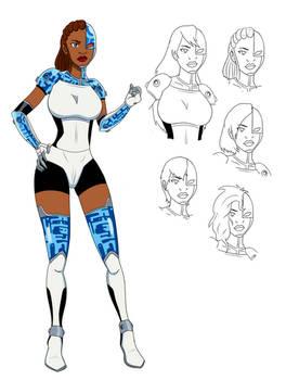 Cyborg - Titans Gender Bender