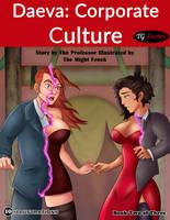Daeva: Corporate Culture vol.2 - Cover Art by TheMightFenek