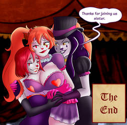 Special TG Comic - Circus Apocalipse 17/17 by TheMightFenek