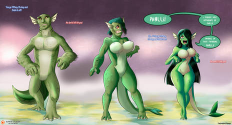 TG Sequence - Swamp Monster by TheMightFenek