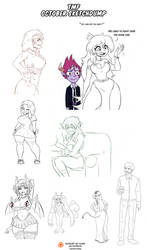 TMF - October Sketchdump