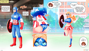 Avengers High - Captain America!