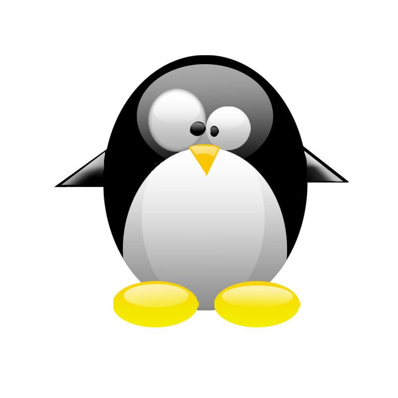 linux tux G1 by kr3-w Linux Penguin