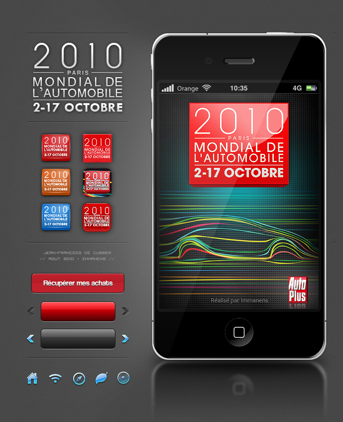 Design App Iphone Mondial Auto By Jfdc On Deviantart