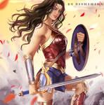 Wonder Woman by nishihiku