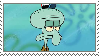 Squidward Stamp by spongefan257