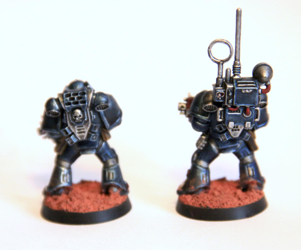 [whr40k/ork,SM] Mes création Warhammer 40k divers ! - Page 26 Arturus_and_blobasis_by_litriktournevis-d7etv4b