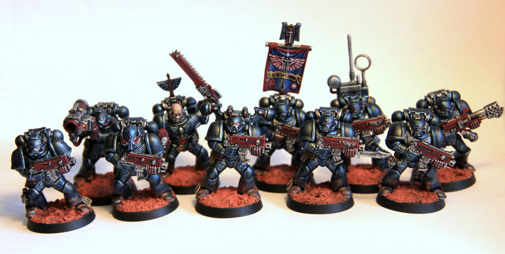 [whr40k/ork,SM] Mes création Warhammer 40k divers ! - Page 26 The_flying_sword_tactical_squad_of_crimson_fists_by_litriktournevis-d7etxe6