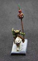 Dagba on white wolf 1 by LitrikTournevis