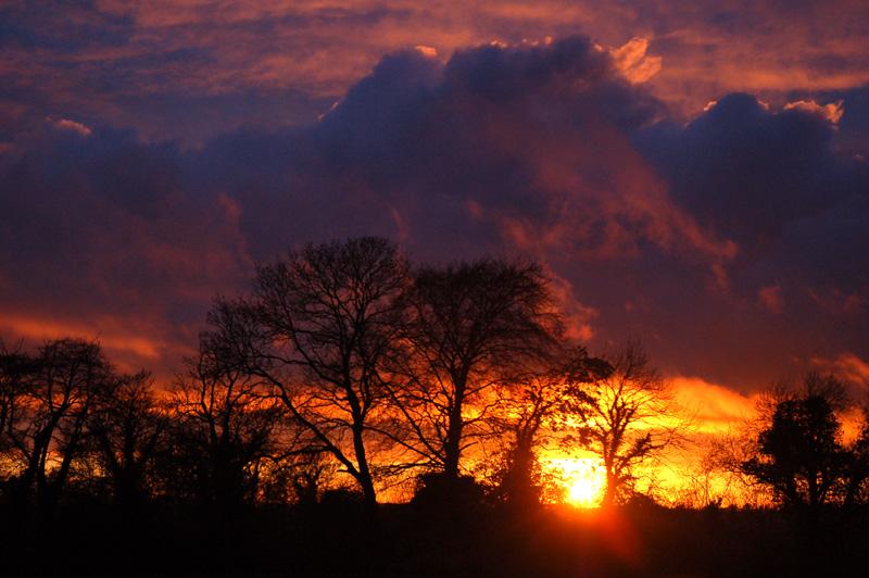 Stormcloud Sunset