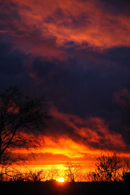 Stormcloud Sunset II