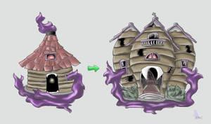 Haunted House Pokemon by werepenguin