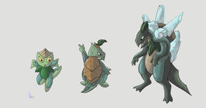 Southern Grass Starter by werepenguin