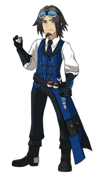 Gym Leader Leo - Pokemon Art Style
