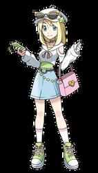 Gym Leader Ace - Pokemon Art Style