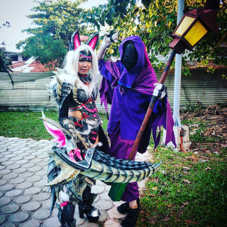 Jax meets a Monster Hunter by KinGBaKeRo