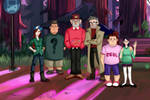 Gravity Falls The End