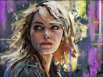 Emma Stone: Portrait Study