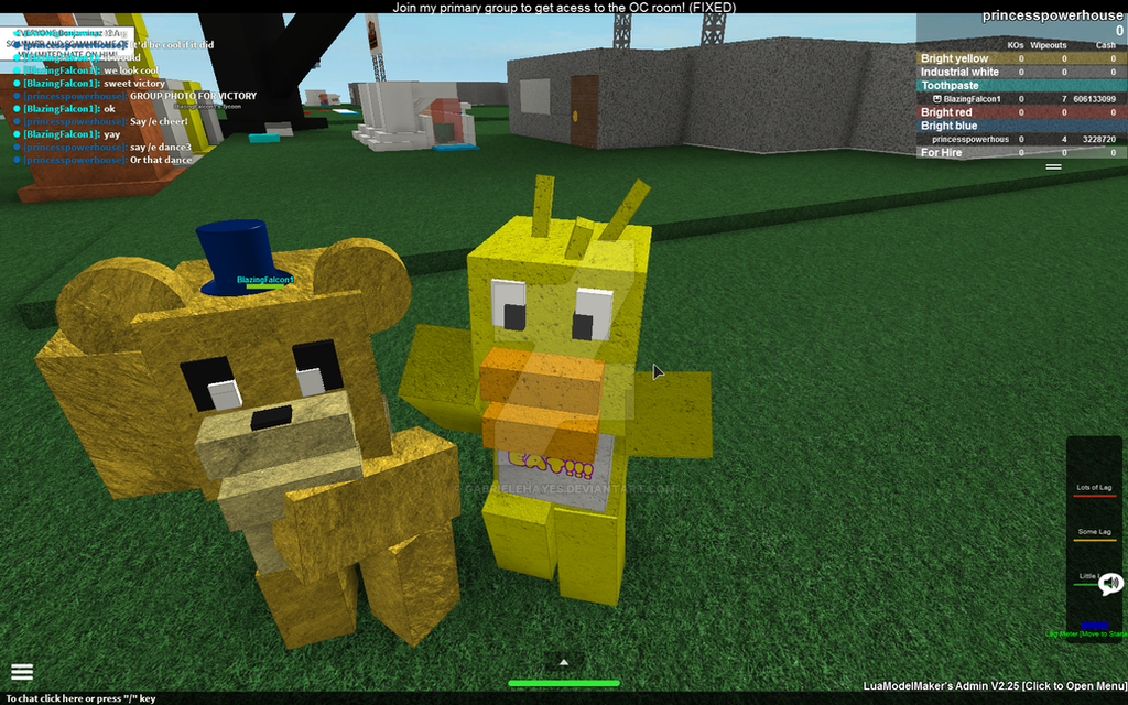 Roblox Fnaf Tycoon Sweet Sweet Victory By Gabrielehayes On Deviantart