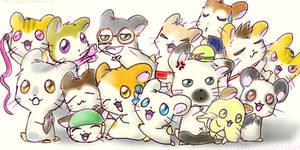 Hamster Club by FishFoundation