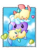 :Cushy Hug: by FishFoundation