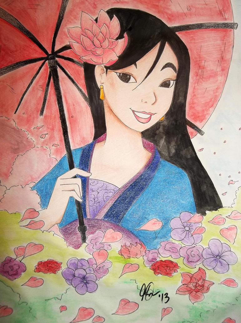 Disney's Mulan by DeathGoddess231