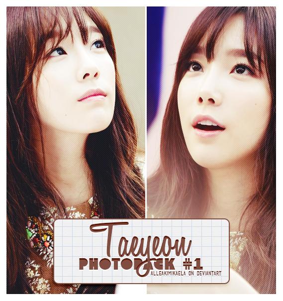 Taeyeon Photopack #1 by AlleakiMikaela
