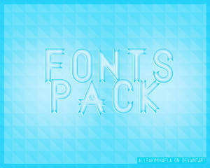 50 Fonts Pack | 50 Watchers