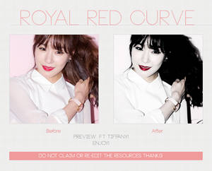 Royal Red Curve | Photoscape