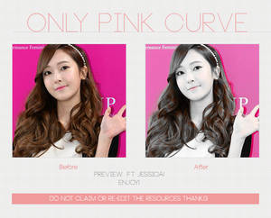 Only Pink Curve | Photoscape