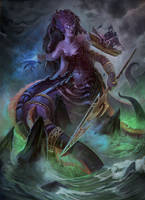 Queen Azshara 2.0 by CarmenSinek