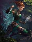 Neverwinter PCGamer Cover: Xuna