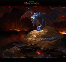 Neverwinter: Blue Dragon by CarmenSinek