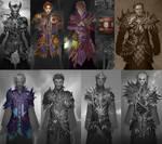 Neverwinter Armor Sets by CarmenSinek