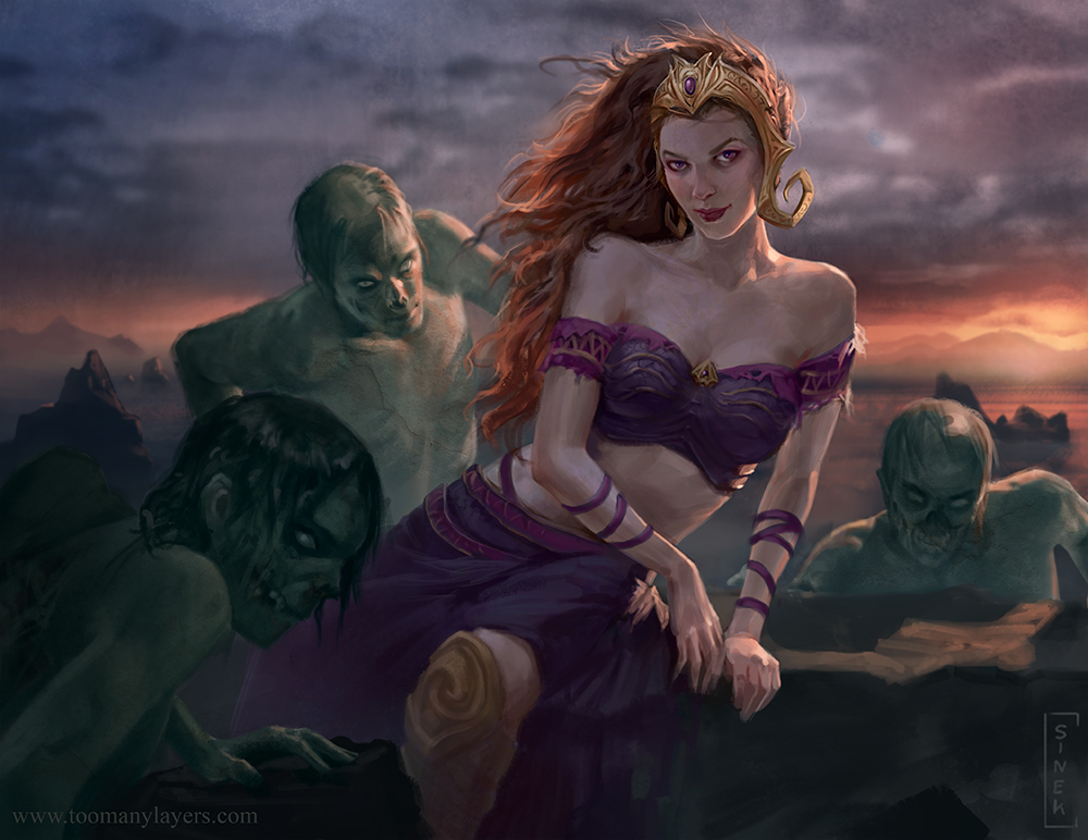Liliana Vess by CarmenSinek