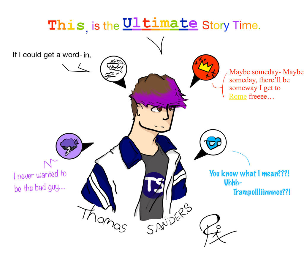 Thomas Sanders Ultimate Story Time and Sides by