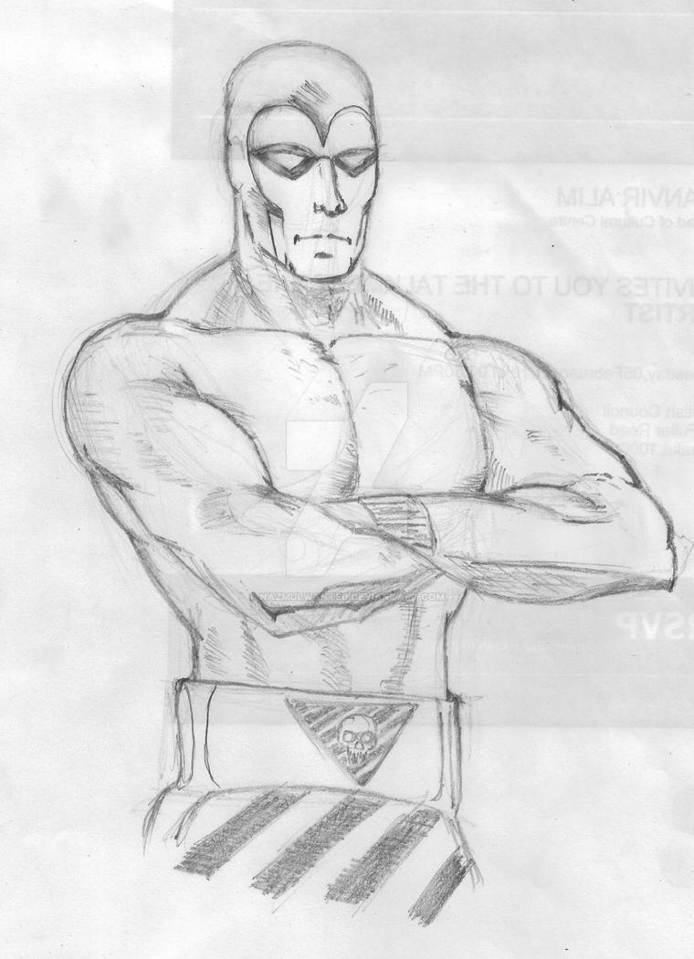 The Phantom copy sketch by nazmulwanted