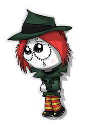 Adorable detective ruby by jach-marsdonpony