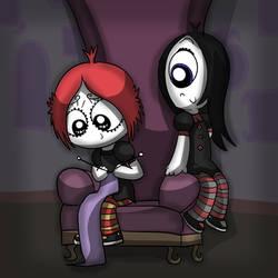 Ruby and Iris